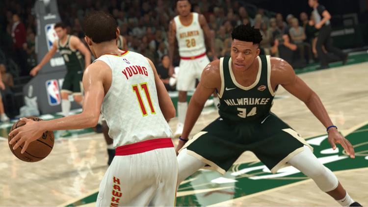Fitur grafis dari pemain Milwaukee Bucks, Giannis Antetokounmpo, dalam games NBA 2K21 terlihat seperti aslinya. Copyright: nba.2k.com