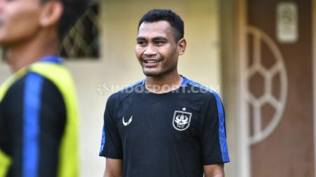 Pemain belakang asal Ternate, Safrudin Tahar resmi bergabung menjadi bagian dari tim Borneo FC selepas dilepas PSIS Semarang pada Kamis (29/04/21) silam. - INDOSPORT