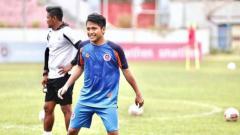 Indosport - Pemain klub Liga 2 2020 Sulut United, Natanael Siringo Ringo.