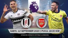 Indosport - Berikut link live streaming pertandingan pembuka Liga Inggris 2020/21 antara Fulham vs Arsenal, Sabtu (12/09/20) pukul 18.30 WIB.