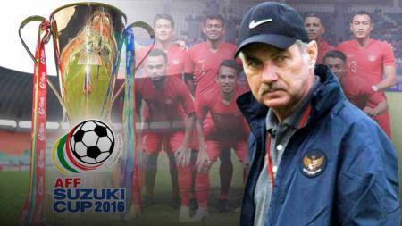 Piala AFF 2016 bisa dikatakan salah satu prestasi gemilang almarhum Alfred Riedl selama menjadi pelatih Timnas Indonesia. - INDOSPORT