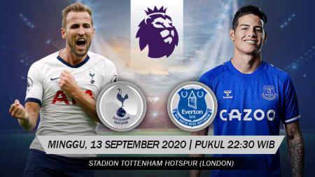 Tottenham Hotspur akan menghadapi Everton di laga perdana Liga Inggris 2020/21, Minggu (13/09/20) malam WIB, berikut data faktanya. - INDOSPORT