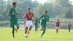 Indosport - Pertandingan antara Timnas U-19 vs Arab Saudi U-19, Jumat (11/09/20).