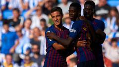 Indosport - Bursa transfer musim dingin mendatang bakal digunakan oleh Manchester United untuk kembali lakukan negosiasi daratkan bintang andalan baru Barcelona, Ousmane Dembele.