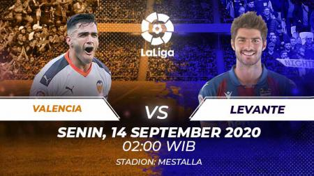 Link Live Streaming Pertandingan LaLiga Spanyol: Valencia vs Levante - INDOSPORT