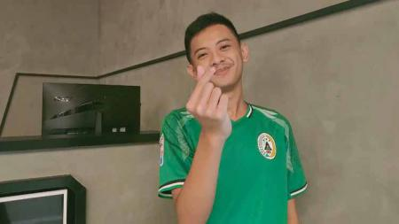 Rizky Faidan, pemain PSS Sleman di Indonesian Football e-League (IFeL) 2020. - INDOSPORT