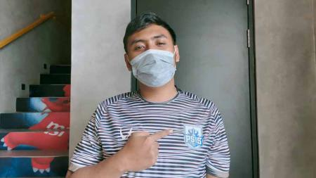 Setia Widianto, pemain PSIS Semarang di Indonesian Football e-League (IFeL) 2020. - INDOSPORT
