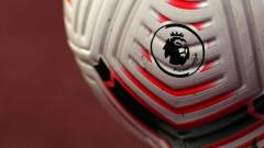 Indosport - Logo Liga Primer Inggris dalam bola terbaru musim 2020-2021