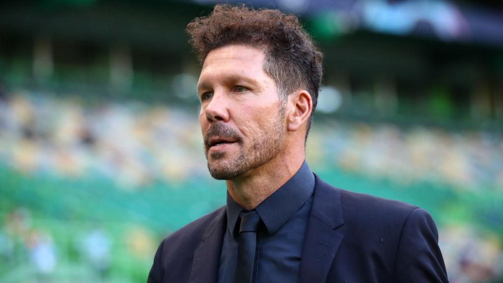 Diego Simeone Copyright: UEFA - Handout/UEFA via Getty Images