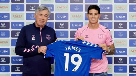 Termasuk Carlo Ancelotti dan James Rodriguez, berikut daftar pelatih dan pemain yang bekerja sama di 2 klub yang sama atau lebih. - INDOSPORT