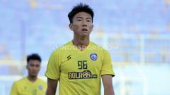 Indosport - Gelandang Arema FC berdarah Jepang, Seiya Da Costa Lay.