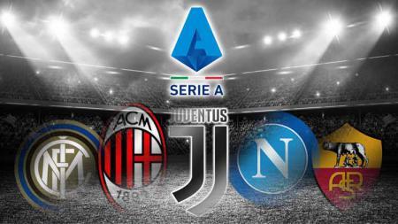 Kompetisi Serie A Italia musim 2020-2021 segera bergulir dalam hitungan hari, seperti apa peluang klub-klub Juventus, AC Milan, Inter Milan, dan lainnya? - INDOSPORT