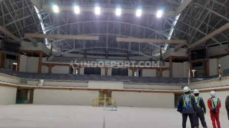 Gedung venue voli indoor PON XX Papua. - INDOSPORT