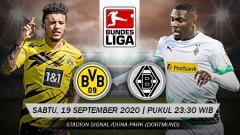 Indosport - Berikut prediksi pertandingan Bundesliga Jerman 2020-2021 antara Borussia Dortmund vs Borussia Monchengladbach yang akan berlangsung pada Sabtu (19/09/20).