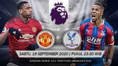 Indosport - Pertandingan Manchester United vs Crystal Palace (Liga Primer).