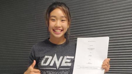 Victoria Lee, Talenta Bela Diri Berusia 16 Tahun dari Hawaii Gabung ONE Championship. - INDOSPORT
