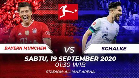 Berikut ini link live streaming pertandingan pembuka Bundesliga Jerman musim 2020/2021 antara Bayern Munchen vs Schalke 04, Sabtu (19/09/20) pukul 01.30 WIB. - INDOSPORT
