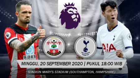 Berikut link live streaming pertandingan antara Southampton vs Tottenham Hotspur dalam laga lanjutan kompetisi Liga Inggris musim 2020/2021. - INDOSPORT