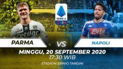 Indosport - Berikut tersaji prediksi pertandingan Serie A Liga Italia 2020-2021 antara Parma vs Napoli yang akan berlangsung pada Minggu (20/09/20) pukul 17.30 WIB.