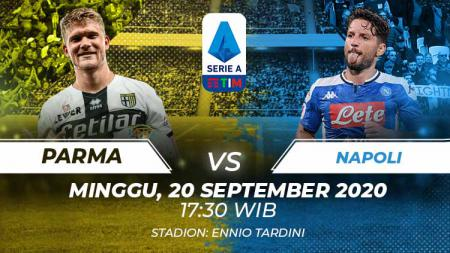 Berikut tersaji prediksi pertandingan Serie A Liga Italia 2020-2021 antara Parma vs Napoli yang akan berlangsung pada Minggu (20/09/20) pukul 17.30 WIB. - INDOSPORT
