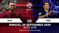 Indosport - Berikut link live streaming pertandingan Ligue 1 pada pekan ke-4 yang mempertemukan antara Nice vs PSG.