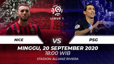Berikut link live streaming pertandingan Ligue 1 pada pekan ke-4 yang mempertemukan antara Nice vs PSG. - INDOSPORT