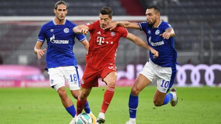 Bayern Munchen mampu mengawali langkahnya di Bundesliga 2020/21 dengan kemenangan telak 8-0 atas lawannya, Schalke. - INDOSPORT