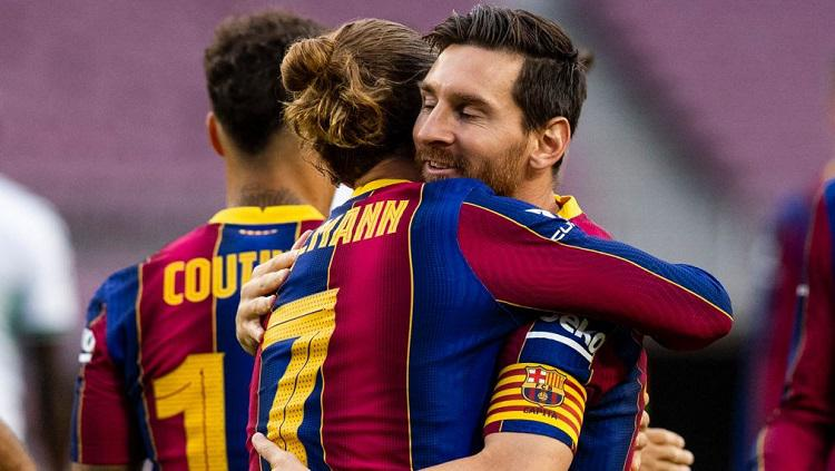 Sindir Barcelona, Griezmann Cari Masalah Baru dengan Messi dan Koeman