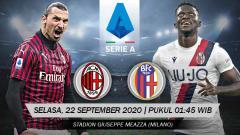Indosport - AC Milan membagikan tiket kepada para tenaga kesehatan (dokter, perawat, dll) untuk menyaksikan laga melawan Bologna.