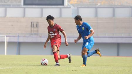 Uji coba Persita vs Bhayangkara FC. - INDOSPORT