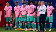 Indosport - Kisah aneh Matheus Fernandes, pemain 'hantu' yang di skuat Barcelona arahan Ronald Koeman.