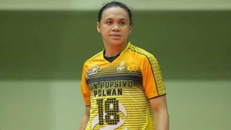 Amasya Manganang, eks atlet voli Indonesia sekaligus kakak Aprilia Manganang - INDOSPORT