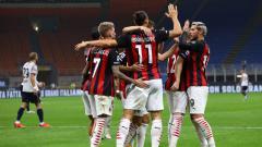 Indosport - Stefano Pioli akan melakukan rotasi dan menggusur 6 pemain AC Milan jelang Derby della Madonnina kontra Inter Milan di babak perempatfinal Coppa Italia 2020/21.