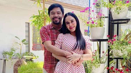Jinkee Jamora, istri cantik petinju Manny Pacquiao. - INDOSPORT