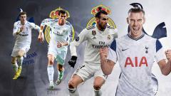 Indosport - Dibuang dari Real Madrid dan mendekam di raksasa Liga Inggris, Tottenham Hotspur, buktikan Gareth Bale lebih hebat dari Cristiano Ronaldo dan Lionel Messi.