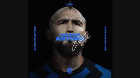 Arturo Vidal, Inter Milan. - INDOSPORT