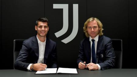 Keputusan Juventus yang telah meresmikan Alvaro Morata dari Atletico Madrid ternyata membawa berkah sangat besar bagi raksasa Serie A Liga Italia, Inter Milan. - INDOSPORT