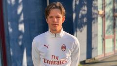 Indosport - Rekrutan belia AC Milan, Wilgot Marshage.