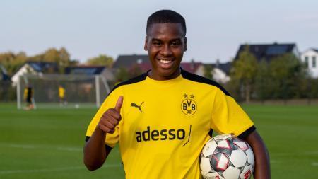 Wonderkid anyar Borussia Dortmund, Jamie Bynoe-Gittens yang dibajak dari Manchester City - INDOSPORT