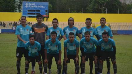 Pasca menjalani laga persahabatan melawan Badak Lampung FC, Rabu sore, punggawa klub Liga 2 Sriwijaya FC langsung meluncur kembali ke Palembang. - INDOSPORT