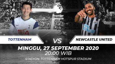 Berikut ini link live streaming pertandingan Liga Inggris antara Tottenham Hotspur vs Newcastle United, Minggu (27/09/20) pukul 20.00 WIB. - INDOSPORT
