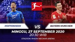 Indosport - Link Live Streaming Bundesliga Hoffenheim vs Munchen: Duel Beda Kasta
