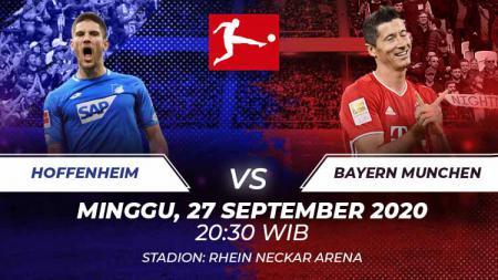 Link Live Streaming Bundesliga Hoffenheim vs Munchen: Duel Beda Kasta - INDOSPORT