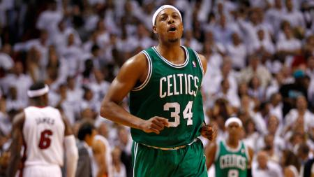 Paul Pierce saat masih aktif bermain untuk Boston Celtics. - INDOSPORT