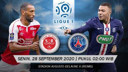 Paris Saint-Germain (PSG) akan menjalani laga tandang melawan Reims di Stade Auguste-Delaune II, pada Senin (28/9/20), mulai pukul 02:00 dini hari WIB. - INDOSPORT