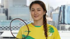 Indosport - Gronya Somerville, pebulutangkis asal Australia.