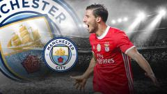 Indosport - Ruben Dias, pemain baru Manchester City.