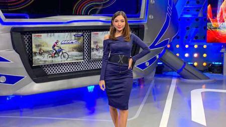 Presenter cantik motogp Natascha Germania. - INDOSPORT
