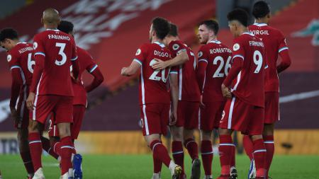 Sembilan pemain Liverpool belum pernah kalah di Anfield di ajang Liga Inggris selama membela The Reds meski sudah tampil lebih dari 10 kali. Siapa saja mereka? - INDOSPORT