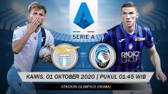 Indosport - Prediksi Pertandingan Lazio vs Atalanta (Serie A).